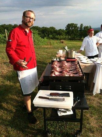 The Red Dove Tavern: chef!!!