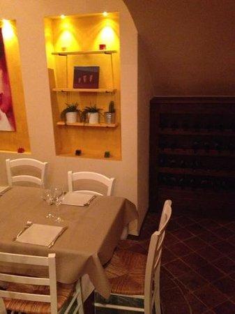 Il Mare nel Castello: sala ristorante