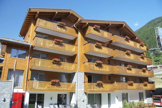 Hotel Aristella swissflair : View of the Hotel