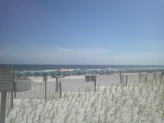 Hampton Inn Ft. Walton Beach: Couldn't ask for a more beautiful beach!