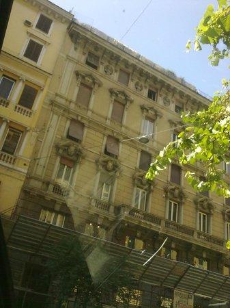 Residenza Alexander: View opposite from the Residenza