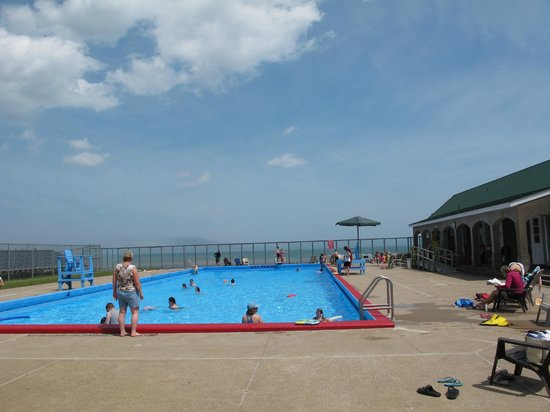 Solar Heated Salt Water Swimming Pool With A Great View Picture Of Fundy National Park
