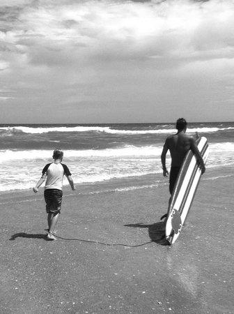 Carolina School of Surf: Surfing lessons