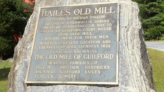 Old Mill of Guilford: Old Mill Rock