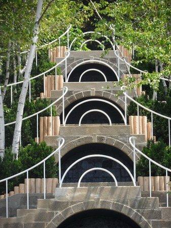 Naumkeag : Restored blue steps