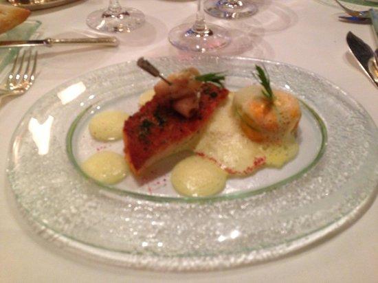 Domaine de Chateauvieux: Taille des portions