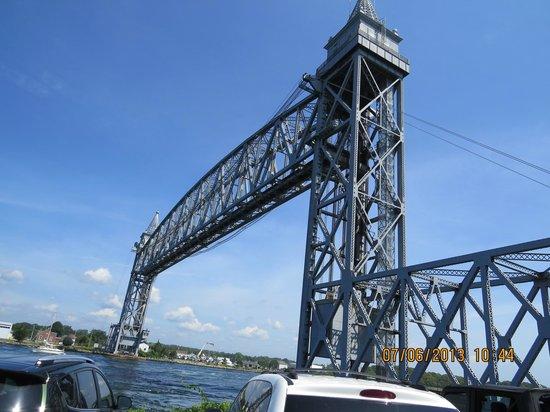 Cape Cod Canal Railway Bridge: Railway Bridge, Buzzards Bay