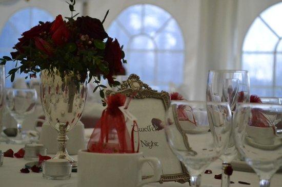 Brook Marston Farm Hotel: Tables