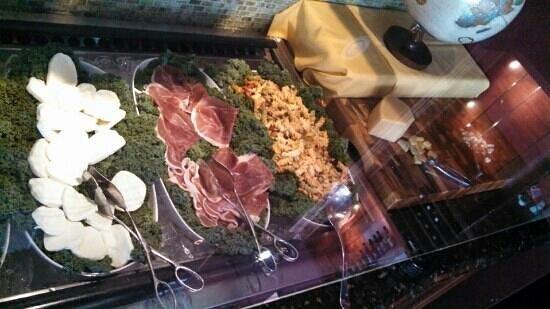 Ragab Brazilian & International Cuisine: salad bar 3 of 3 w/cheeses