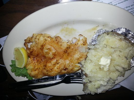 Russell's Seafood Grill: grouper