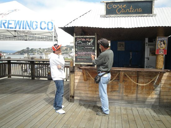 Angel Island Cafe & Cantina: Lots to decide from at the Cantina!