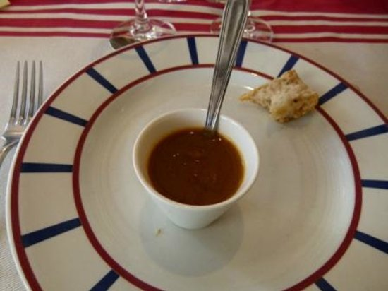 Hotel Euzkadi : Lobster bisque is average