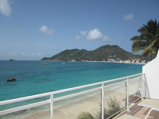 Bleu Emeraude : View from balcony
