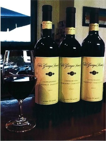 DiGiorgio Family Wines: Tasting three older vintages of Coonawarra Cabernet Sauvignon as part of Cellar Dwellers 2013