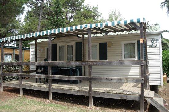 Camping Sunelia Les Tropiques: voici le mobile home,
