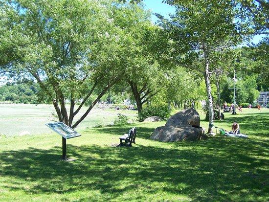 Parcours des Anses : Parc de la Jetée d'Ultramar