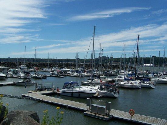 Parcours des Anses : Parc nautique Levy(marina)