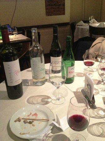 La Cava del Querandi : Degustação de Vinho