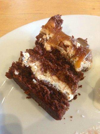 Stags Pavilion: Chocolate Cake