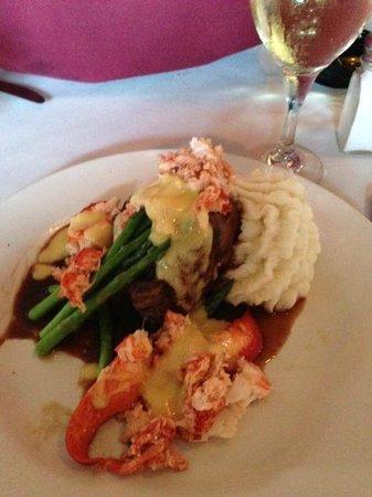 Capriccio Ristorante: Filet Mignon and Lobster Special - yummmmmm