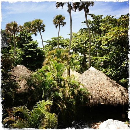 Natura Cabana Boutique Hotel & Spa: View from Cabana Coral balcony