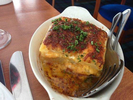 Sannox Bay Hotel  & Restaurant: Amazing cheesy potatoes