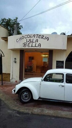 Chocolateria Isla Bella : we almost walked right by...I am so glad we stopped!!