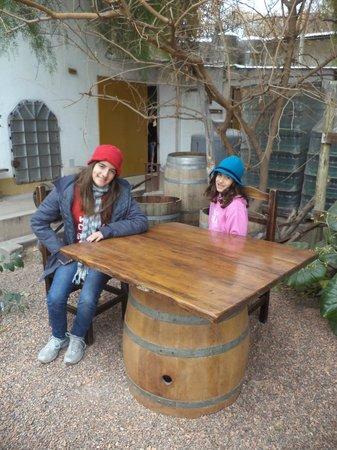 Ditommaso Winery and Restaurant: patio