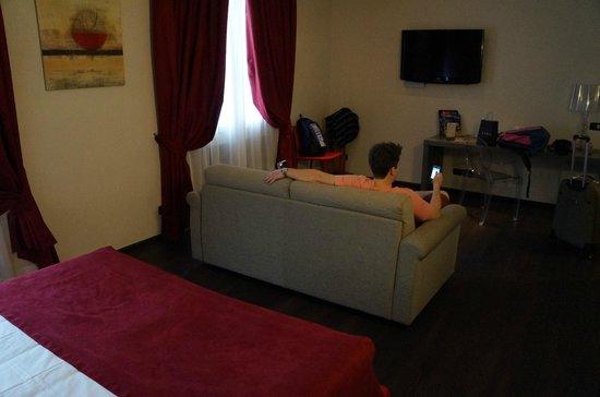 Best Western Hotel Genio : Bedroom