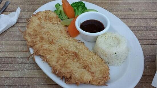 Camilo's: Coconut fish