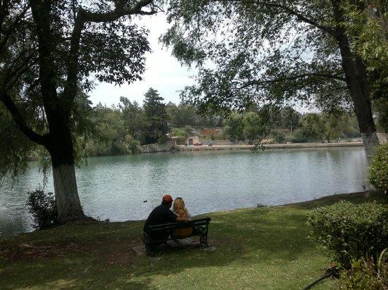 Hacienda San Miguel Regla: Otra parte del lago