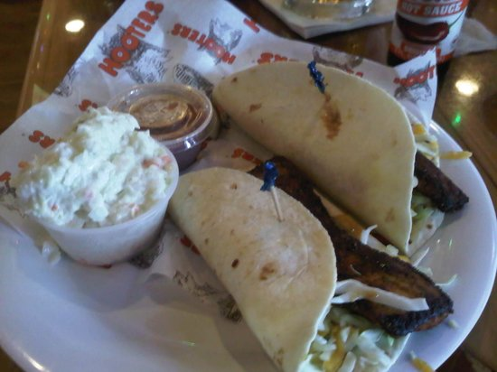 Hooters - Johns Pass : Fish Tacos very very nice