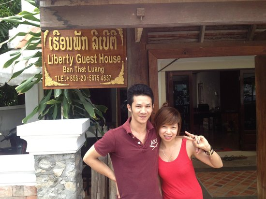 Liberty Guest House: Managers, brother and sisterThuy and Trinh