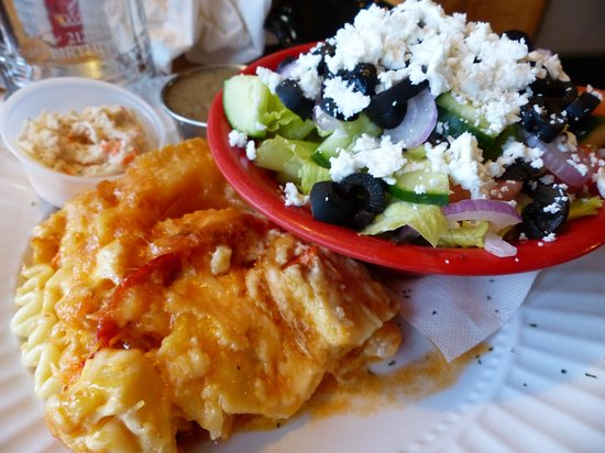Dennis Point Cafe and Restaurant : Seafood lasagna