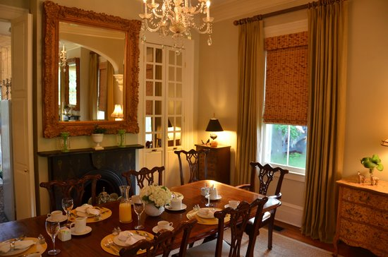 Catherine Ward House Inn: Dining area