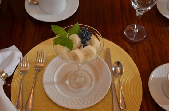 Catherine Ward House Inn: Breakfast first course