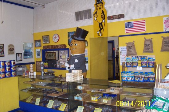 Planters Peanut Center: Mr. Peanut made a visit to see us  June 14, 2011