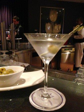 Rotterdam Marriott Hotel: one perfect martini