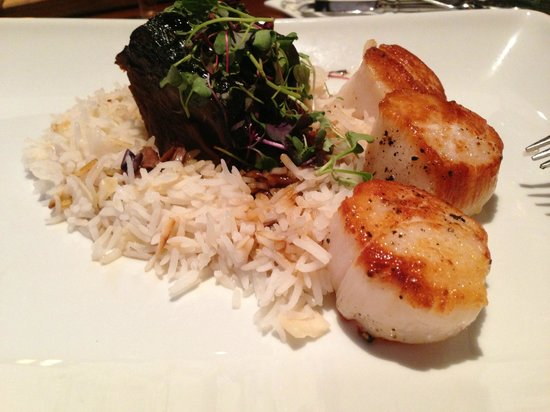 Baca at The Inverness : Surf and Turf
