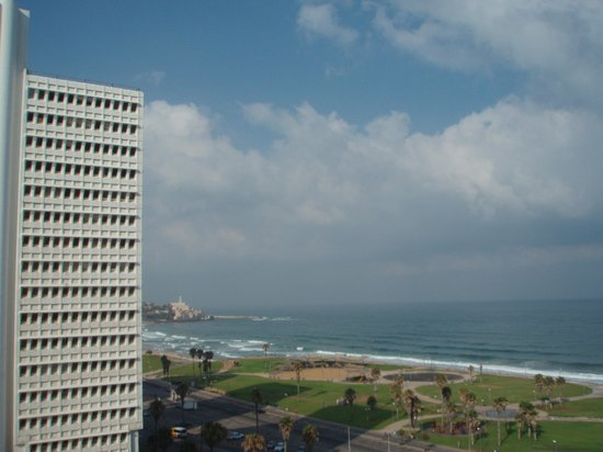 Dan Panorama Tel Aviv: view from our room on the 11th floor