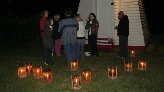 Annapolis Royal Lighthouse : Acadian Candlelight Tour