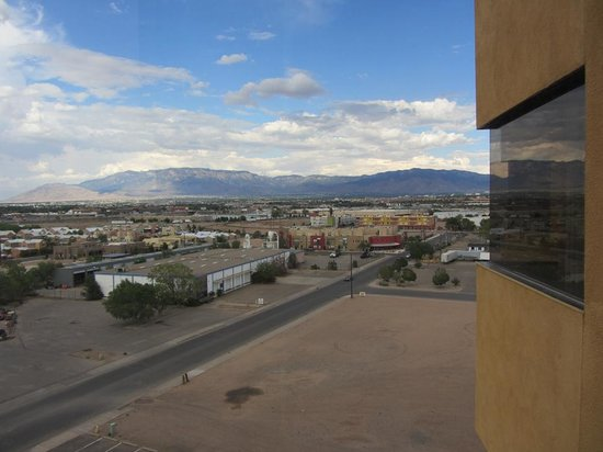 Hotel Albuquerque at Old Town: The view...