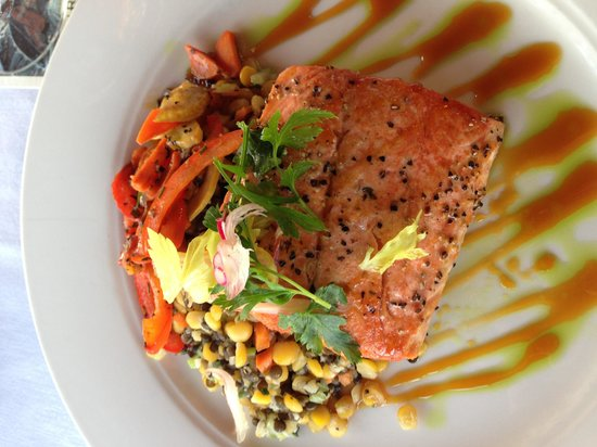 Gallatin River Grill: This is the gluten free version