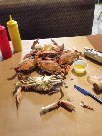 Ernie's Original Crab House: Crabs a la Ernie's