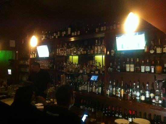 Sauce: Bar at entrance
