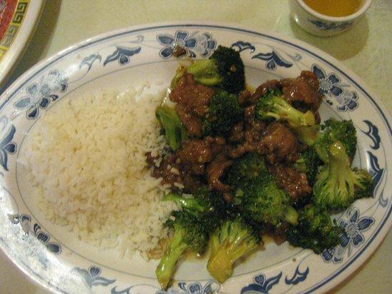 Chef Jia's: Beef & Broccoli