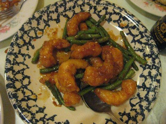 Chef Jia's: Honey crispy prawns