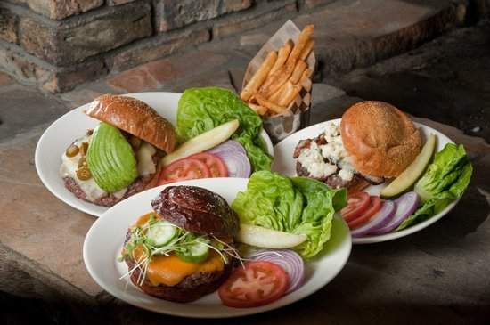 Grind Brgr Bar: A trio of great burgers-all natural grass-fed beef