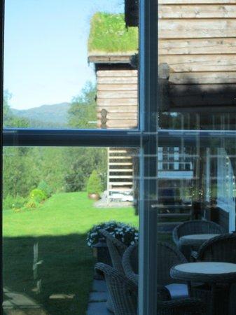 Storfjord Hotel: back porch