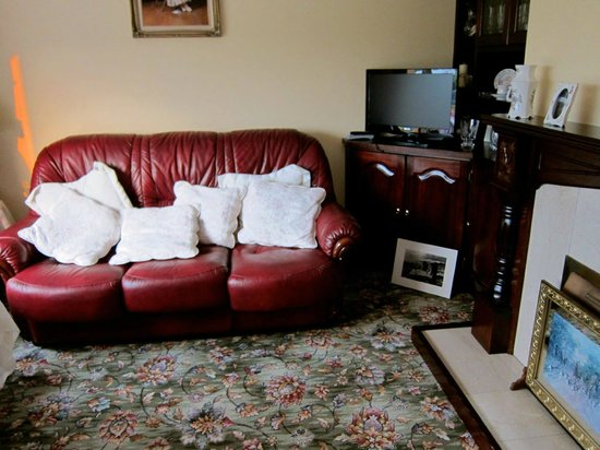 Woodlands Bed & Breakfast: The lounge which is free for your use to eat or just laze around!